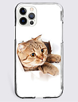 cheap -Lovely Cat Case For Apple iPhone 12 iPhone 11 iPhone 12 Pro Max Unique Design Protective Case Shockproof Back Cover TPU