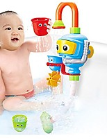 cheap -baby bath toy toddler bath tub toy kids shower toy with sprayer robert fountain (no battery needed) (01)