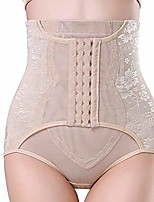cheap -high waist trainer control panties for women party bodyshaper tummy control pulling underwear butt lifter short (color : khaki, size : l)
