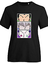 cheap -Inspired by Hunter X Hunter Gon Freecss Cosplay Costume T-shirt Microfiber Graphic Prints Printing T-shirt For Men's / Women's
