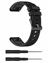 cheap -compatible for garmin forerunner 935 replacement band, replacement silicone wrist band strap with quickfit for garmin forerunner 945/935 /fenix 5 plus/5 /approach s60(silicone black)