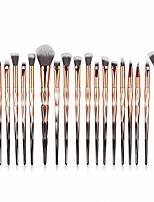 cheap -hosaylike 20-piece make up brush set cosmetic brush foundation eyebrow eyeliner blush cosmetic concealer brush face brush eyeliner with elegant output use brush set