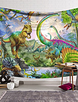 cheap -Wall Tapestry Art Decor Blanket Curtain Hanging Home Bedroom Living Room Decoration Polyester Dinosaur World