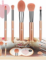 cheap -makeup brushes  16 pcs magic marble premium synthetic professional makeup brushes set with powder concealer eyeshadow eyebrow eyeliner kabukit brushes set black