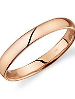 cheap -10k rose gold light comfort fit 3mm wedding band size 10