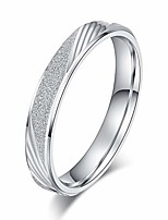 cheap -unisex comfort fit sterling silver 3.5mm sandblasted finish ring patterned wedding band (7)