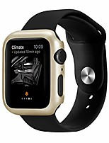 cheap -case for apple watch 4 44mm 40mm, hard plated lightweight hollow case iwatch 4 40mm anti-scratch cover (gold, iwatch 40mm)