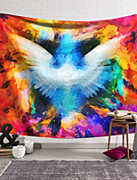 cheap -Wall Tapestry Art Decor Blanket Curtain Hanging Home Bedroom Living Room Decoration Polyester Fiber Painted Wings Dream Orchid Pavilion Design