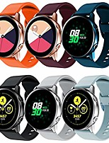 cheap -compatible with galaxy watch active/galaxy watch 3 41mm bands, 20mm soft silicone and comfortable watch replacement strap for galaxy watch 42mm/gear s2 classic/gear sport smartwatches