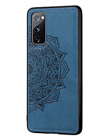cheap -Case For Samsung Galaxy Galaxy A91 / M80S / Galaxy A81 / M60S Shockproof / Embossed Back Cover Solid Colored TPU / PC