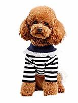 cheap -pet summer lace skirt classic striped cute bow cotton chiffon dress