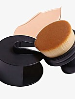 cheap -makeup brushes foundation magic brush no trace foundation brush high density foundation brush round seal makeup brush makeup tools (brown)