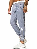 cheap -mens sweatpants cotton drawstring students boys sports jogging running trousers tracksuit bottoms mumustar (gray, xl)