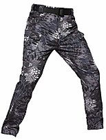 cheap -men's tactical military camouflage pants softshell fleece lined autumn winter thermal warm outdoor hiking pants army trekking combat functional pants ski waterproof pants black python p