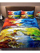 cheap -art series 3-piece duvet cover set hotel bedding sets comforter cover with soft lightweight microfiber, include 1 duvet cover, 2 pillowcases for double/queen/king(1 pillowcase for twin/single)