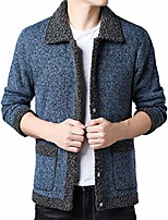 cheap -man jacket cashmere work jacket jackets wool lining casual lapel winter thermal jackets - chic