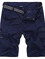 cheap -men outdoors quick drying casual easy hiking fishing shorts