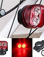 cheap -Bicycle taillight, magnetic, induction light, safety warning, for running, cycling, hiking, lighting for tools, red