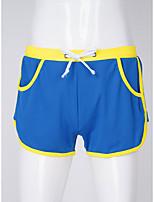 cheap -Men's 1 Piece Basic Boxers Underwear - Normal Low Waist White Black Blue M L XL