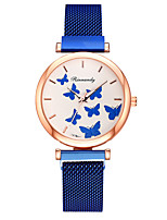 cheap -Women's Quartz Watches Quartz Stylish Fashion Creative Analog Rose Gold Black Blue / One Year