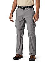 cheap -men's pants-convertible lightweight hiking fishing zip off cargo work pant,grey 32