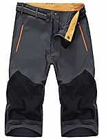 cheap -men's quick-drying summer shorts easy outdoors hiking cycling 3/4 pants with belt