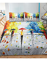 cheap -abstract art 3-piece duvet cover set hotel bedding sets comforter cover with soft lightweight microfiber, include 1 duvet cover, 2 pillowcases for double/queen/king(1 pillowcase for twin/single)