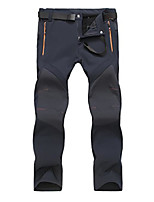 cheap -men's soft shell waterproof trousers(blue,uk xl/tag 3xl)