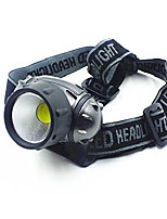 cheap -cob accent light rescue emergency lamp led head lamp search and rescue lamp (black)