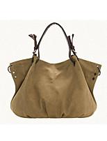 cheap -women fashion casual canvas large capacity handbag