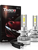 cheap -TXVSO8 Car LED Headlamps H9 / H7 / H4 Light Bulbs For universal All years