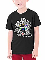 cheap -undertale kids t shirts short sleeve tee tops for youth boys girls size s