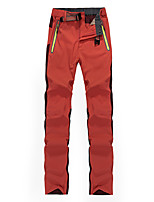 cheap -Women's Hiking Pants Trousers Patchwork Summer Outdoor Tailored Fit Waterproof Ultra Light (UL) Antistatic Quick Dry Spandex Pants / Trousers Yellow Red Rose Red Hunting Fishing Climbing M L XL XXL