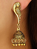 cheap -Women's Drop Earrings Dangle Earrings Tassel Fringe Bird Precious Vintage Earrings Jewelry Gold / Silver For Christmas Halloween Party Evening Gift Date 1 Pair