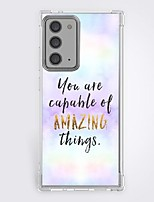 cheap -quotes sayings case for Samsung Galaxy S21 20 plus s20 ultra Note 20 10 S20 FE design protective case shockproof back cover tpu