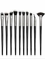 cheap -makeup brushes 8pcs metal makeup brushes set cosmetic face foundation powder eyeshadow blush lip plating make up brush kit