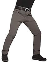 cheap -Men's hiking pants-trekking pants-breathable softshell pants functional pants autumn winter hunting, camping, golf (gray, xl)