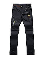 cheap -men's outdoor pants two parts can be dismantled with belt sun protection quick-drying hiking pants functional pants (packaging / reusable) (xxl, grey3731)