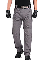 cheap -cargo trousers men bundeswehr trousers men hiking trousers ranger trousers field trousers breathable hunting trousers cotton trousers trekking trousers men gray 38 (label: 3xl)