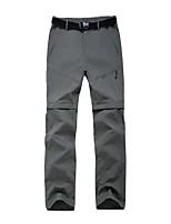 cheap -men's pants-quick dry trekking camping pants cargo shorts (dark gray 32)