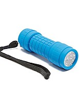 cheap -9 led torch walking lighting head torches, blue, one size