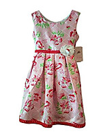 cheap -girls floral special occasion dress (10, floral print)