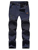 cheap -men's hiking pants waterproof softshell pants outdoor pants windproof warm lined ski pants snowboard pants winter trekking pants, kz1672m-blue1-l