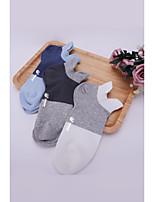 cheap -Men's Medium Socks Comfort Warm Cotton Antibacterial Gray One-Size 3 pairs
