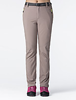 cheap -Women's Hiking Pants Trousers Solid Color Summer Outdoor Quick Dry Breathable Soft Wear Resistance Spandex Pants / Trousers Black Purple Khaki Rose Red Light Blue Hunting Fishing Camping / Hiking