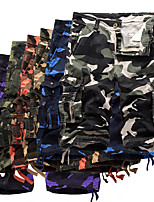 "cheap -Men's Hiking Cargo Shorts Camo Summer Outdoor 10"" Loose Breathable Anti-tear Multi-Pocket Cotton Shorts Purple Red Army Green Khaki Sky Blue Hunting Fishing Climbing 29 30 31 32 34"