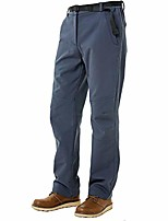 cheap -men's autumn winter outdoor pants windproof soft shell fleece lined hiking mountain hunting ski pants warm trousers (gray,xxl)