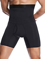 cheap -mens underwear boxer briefs high waisted shapewear shorts body shaper tummy control panties waist trainer trunks