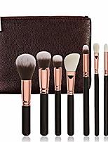 cheap -makeup brush set eyeshadow foundation liquid blush eyelash lip makeup brush cosmetic beauty tool set makeup brushes (color : 8pcs h)