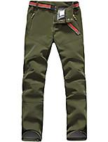 cheap -softshell hiking trousers for women waterproof windproof trekking climbing breathable fleece lined outdoor pants
